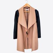 Zipper pinina coat