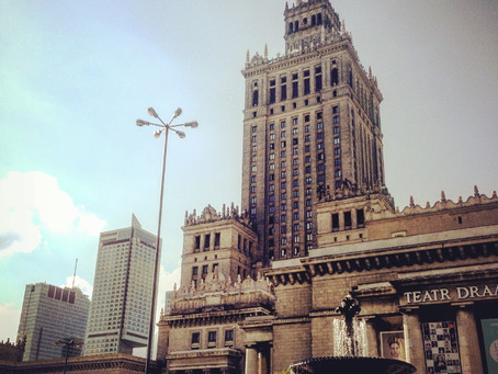 From grey & old-fashioned to modern & trendy. MJ Top 10 reasons to fall in love with Warsaw.