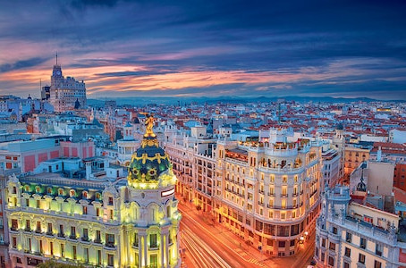 Madrid – one of MJ's favourites. Top 10!