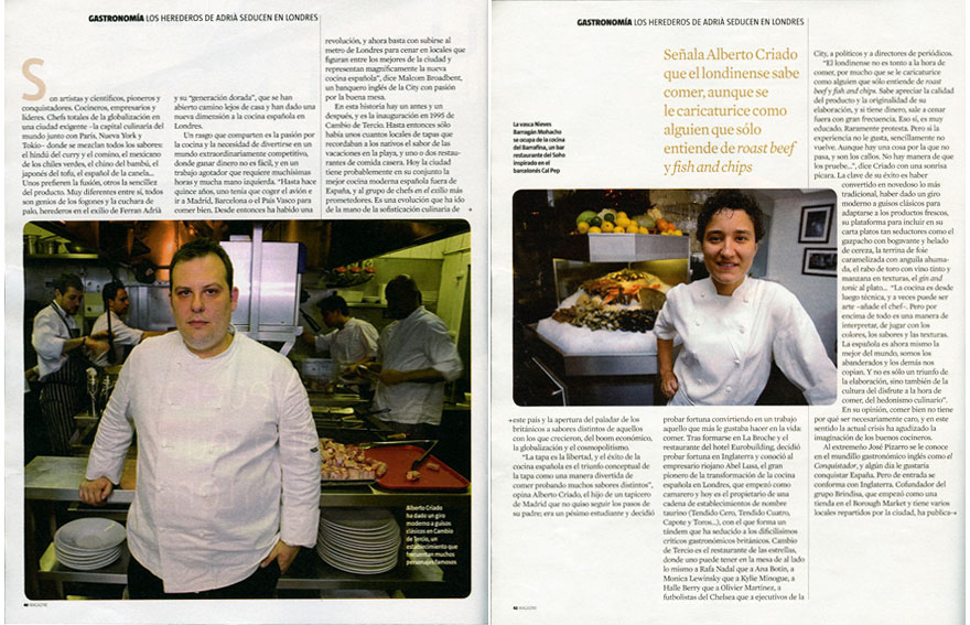 Magazine. La Vanguardia (2/3)