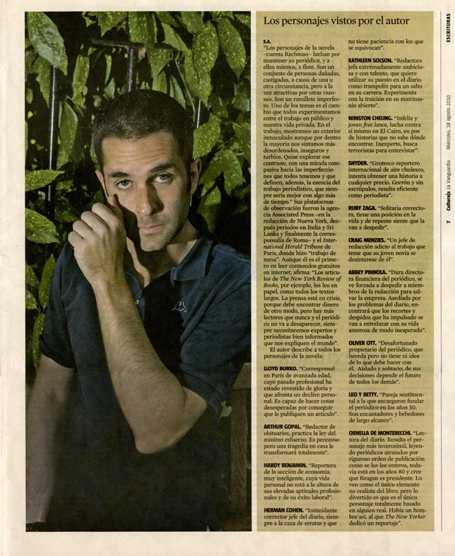 Culturas. La Vanguardia