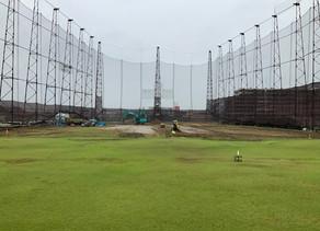 極楽ジャンボリーゴルフ倶楽部 リニューアル工事中の様子