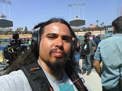 Dodger Stadium with Adrian Gonzalez