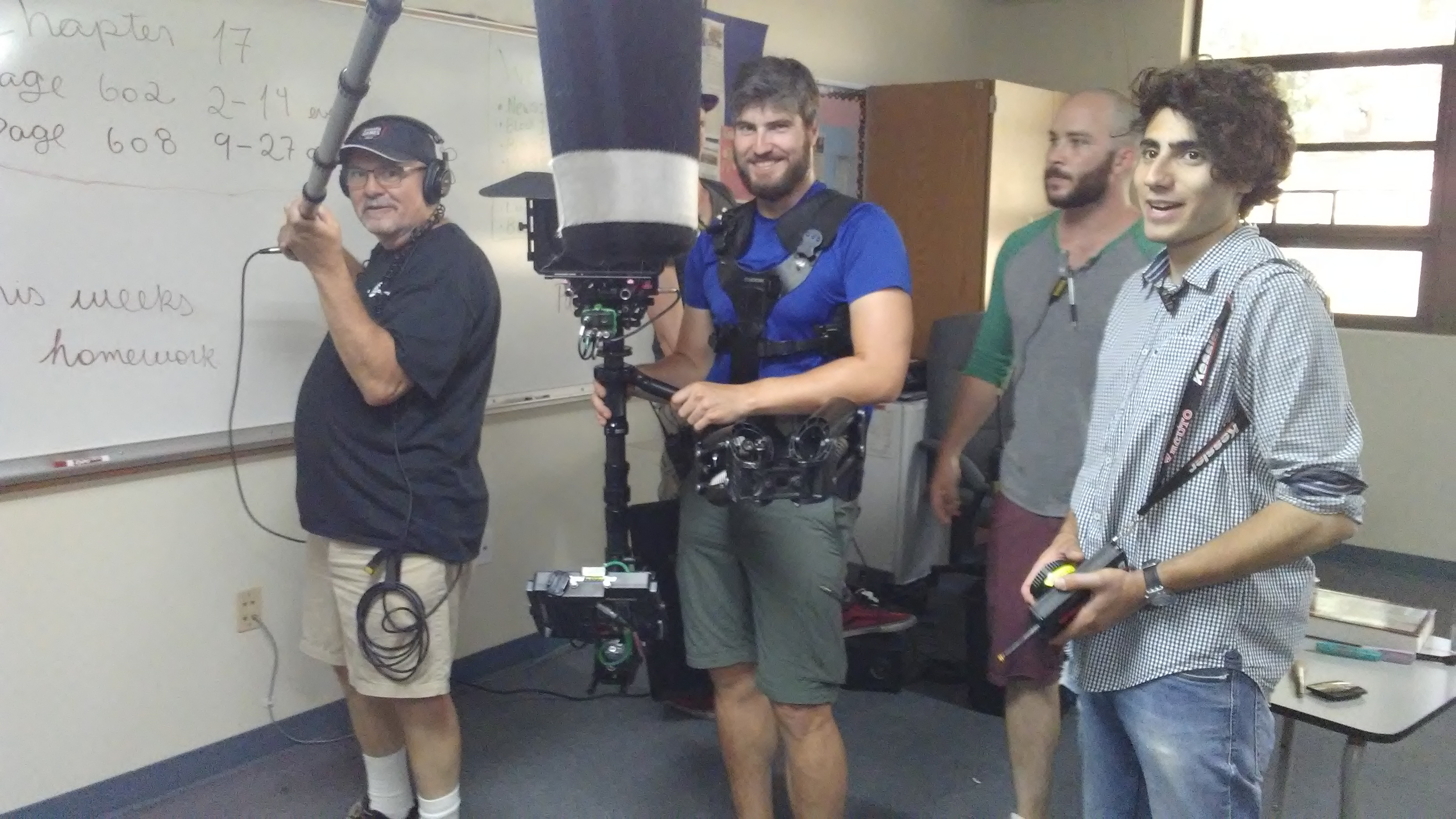 Jim Mello and Steadicam Op