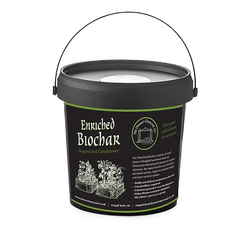 Enriched Biochar 500g Tub