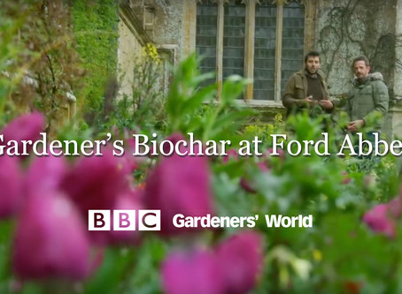 Gardener's Biochar featured on BBC Gardeners' World.