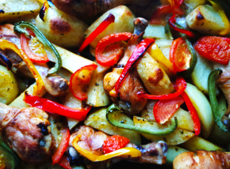 Chargrilled Vegetables.