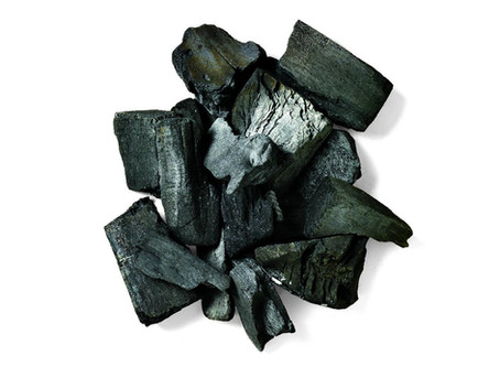 A Second Life for Unused Lump Charcoal.