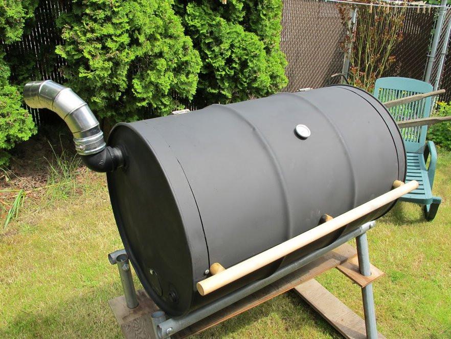 Jonny Blegs Barrel BBQ Design