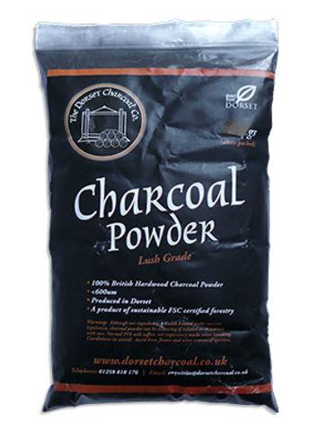 Dorset Charcoal Powder in a bag