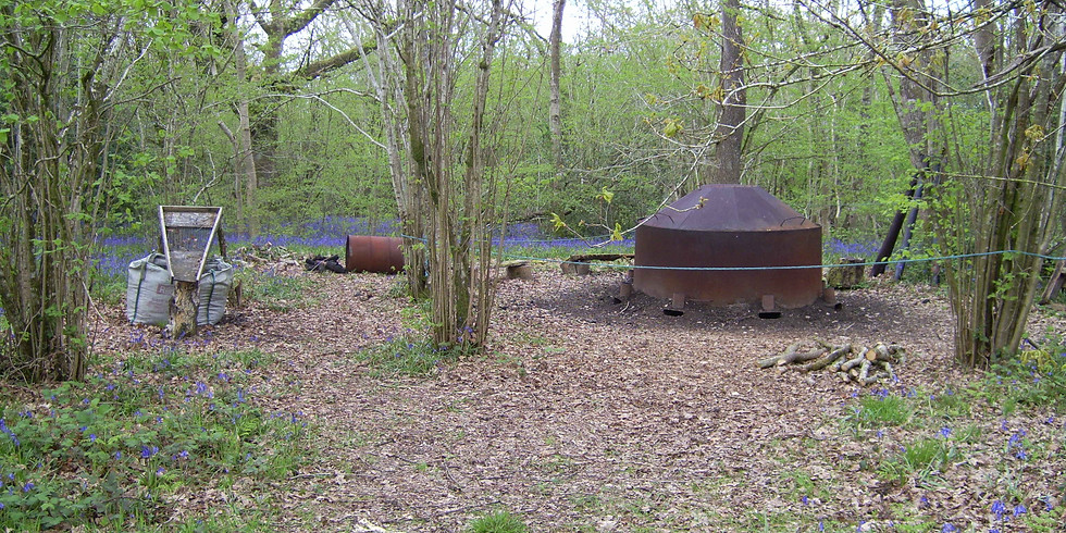 Charcoal Burning Course Friday 18th September 2020