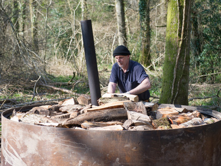 Jim Bettle The Charcoal Maker.