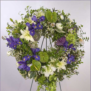 wreath-funeral