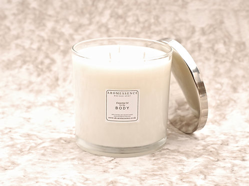 B O D Y - Signature Collection 3 Wick Glass Candle