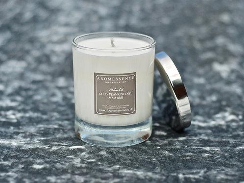 Gold, Frankincense & Myrrh - Glass Candle