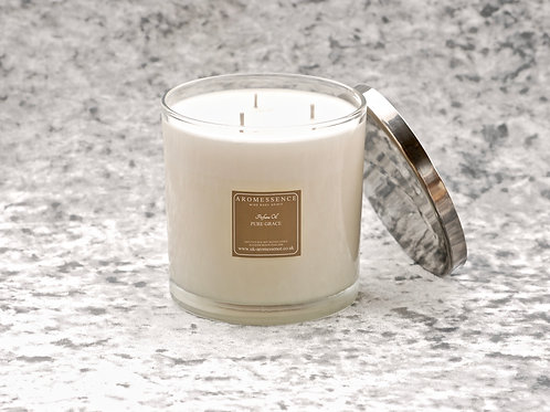 Pure Grace - 3 Wick Glass Candle
