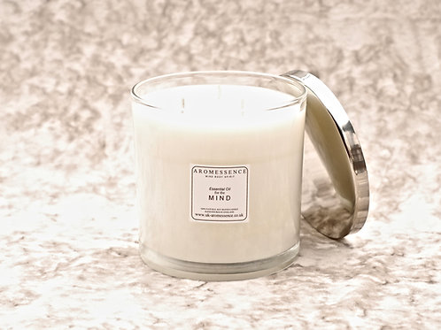 M I N D - Signature Collection 3 Wick Glass Candle