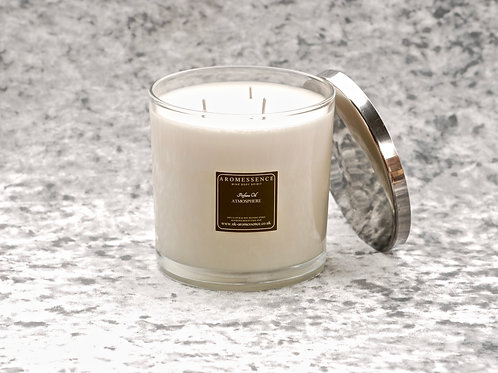 Atmosphere - 3 Wick Glass Candle