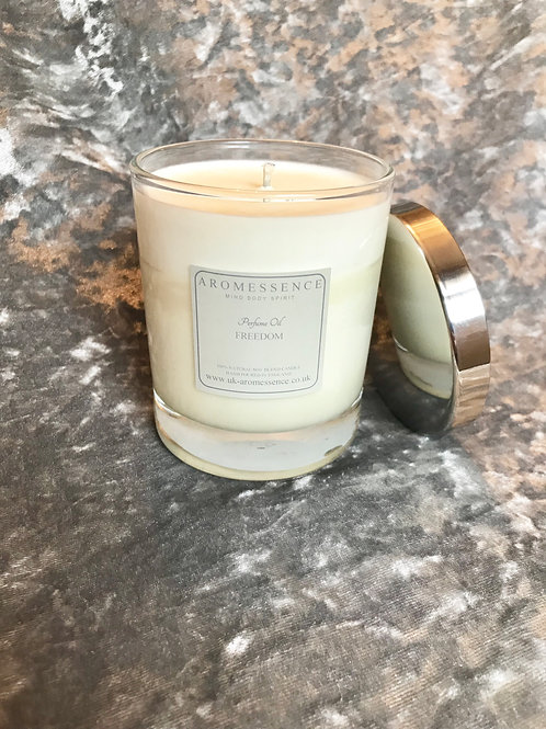 Freedom Glass Candle