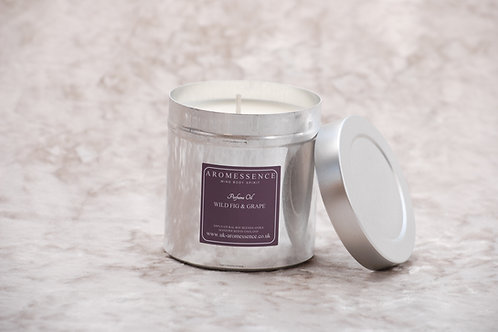 Wild Fig & Grape Candle in Tin