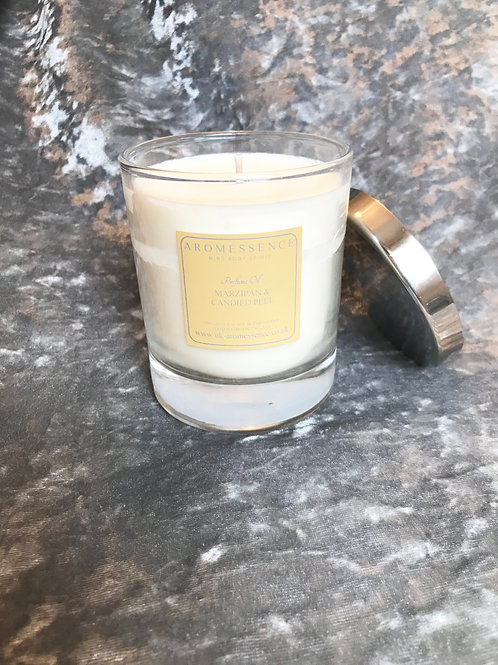 Marzipan & Candied Peel Glass Candle