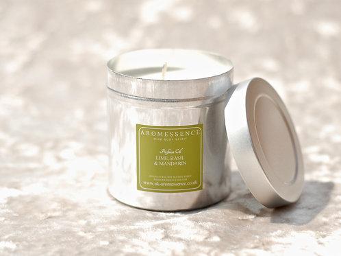 Lime, Basil & Mandarin - Candle in Tin