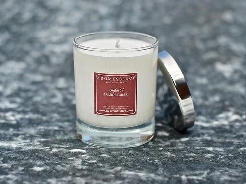 Fireside Embers - Glass Candle
