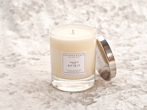 S P I R I T - Signature Collection Glass Candle