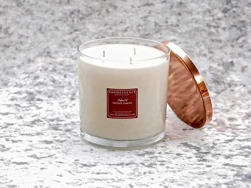 Fireside Embers - 3 Wick Glass Candle