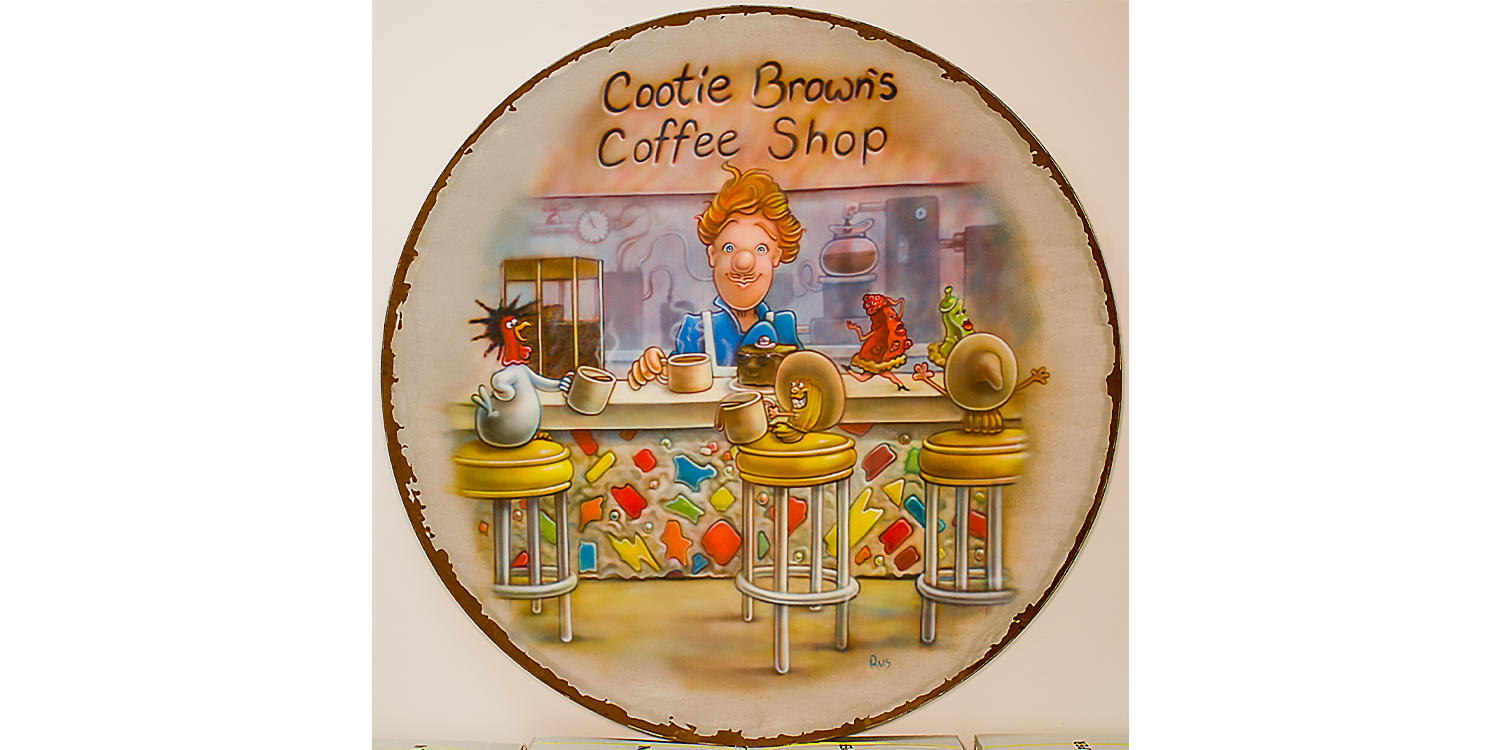 Cootie Brown Coffee Shop