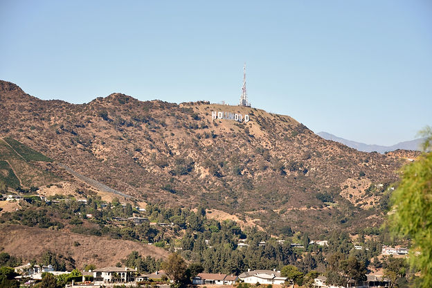 California Los Angeles Hollywood sign