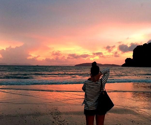 Thailand Krabi sunset