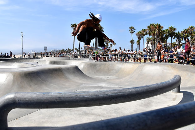 California on the road Instagram Spots Skater Park Venice Beach Los Angeles