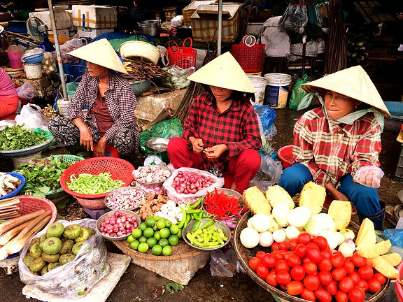 Vietnam Instagram Spots mercati