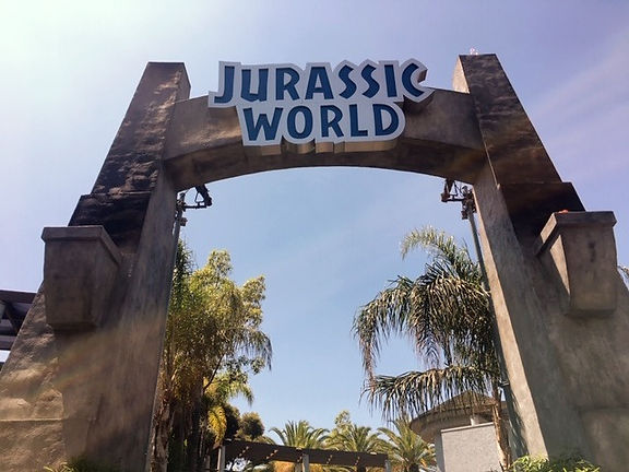 California Los Angeles Universal Studious Jurassic World
