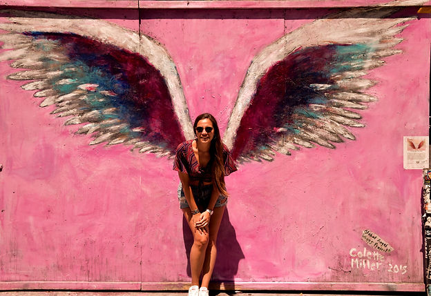 California on the road Instagram Spots Colette Miller Wings Melrose Avenue Los Angeles