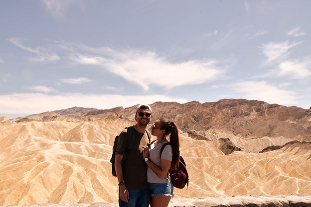 California on the road Instagram Spots Zabriskie Point Death Valley