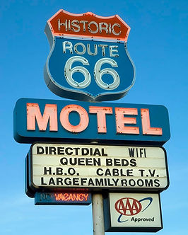 California where to stay motel