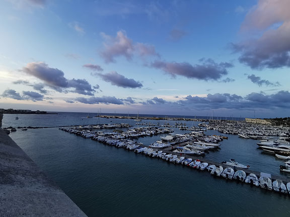 Puglia Otranto porto