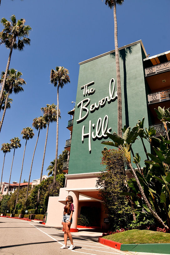 California on the road Instagram Spots Beverly Hills Hotel Los Angeles