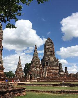 Thailandia Ayutthaya antica capitale rovine