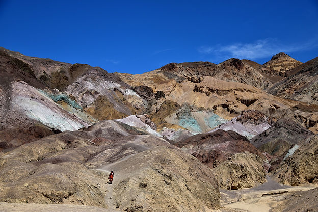 California on the road Instagram Spots Artist's Palette Death Valley