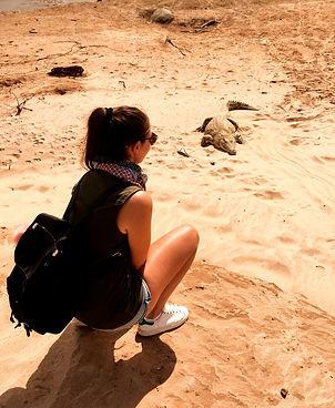 Kenya safari Tsavo Est coccodrillo