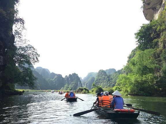Vietnam Ninh Binh Trang An Nature Park