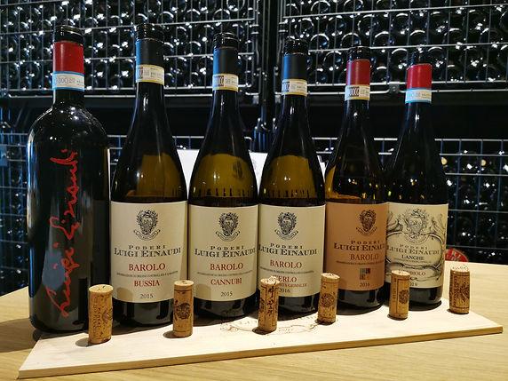 Piemonte Langhe Poderi Luigi Einaudi degustazione vino