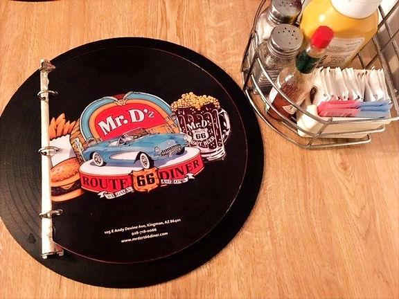 California dove mangiare Mr D'z Route 66 Diner
