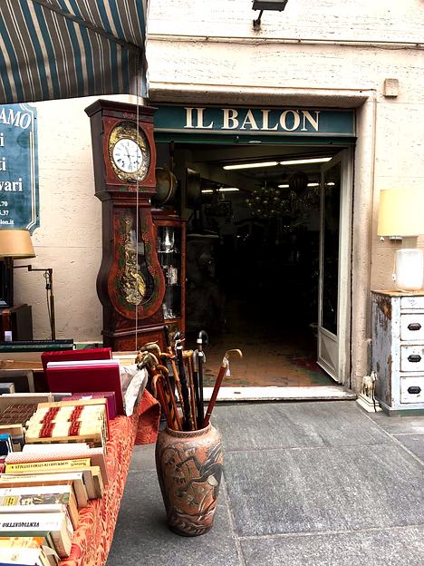 mercato antiquariato Balon Torino