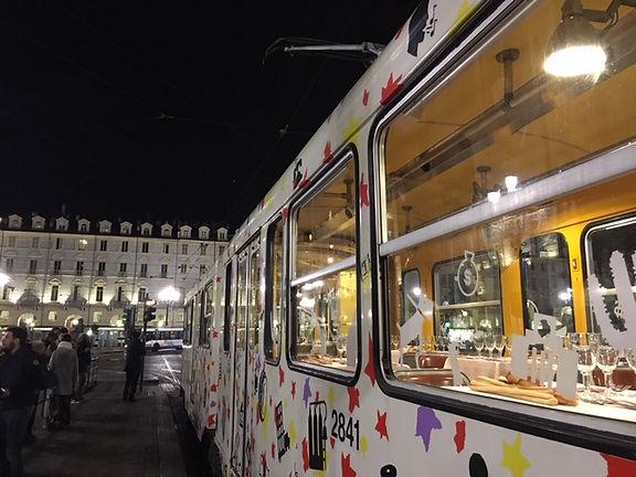 Cena tram storico Torino GTT