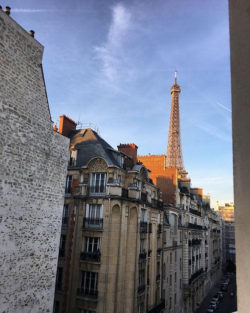 Le Derby Alma Boutique Hotel Parigi vista Torre Eiffel