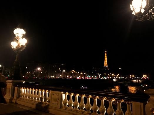 Parigi Torre Eiffel Ponte Alexandre III